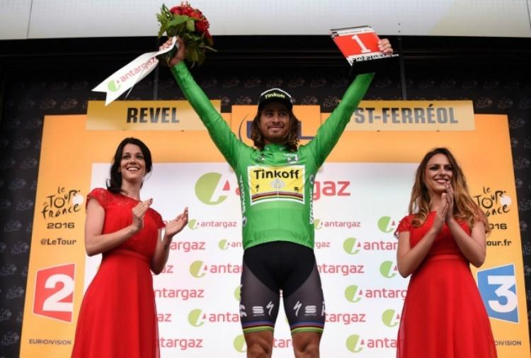 Michael Matthews in fuga si aggiudica la tappa del Tour de France
