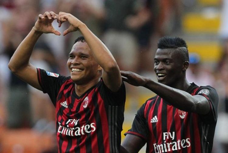 Bacca non lascia più il Milan