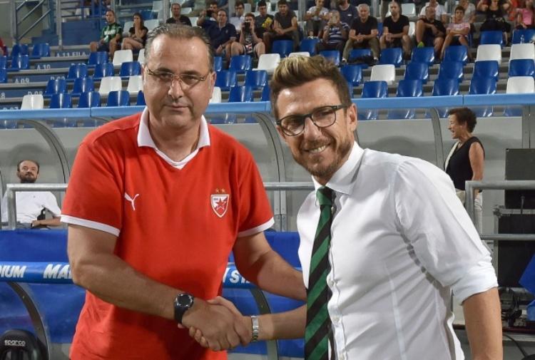 S.Rossa-Sassuolo, tocca a Matri - Tiscali Sport
