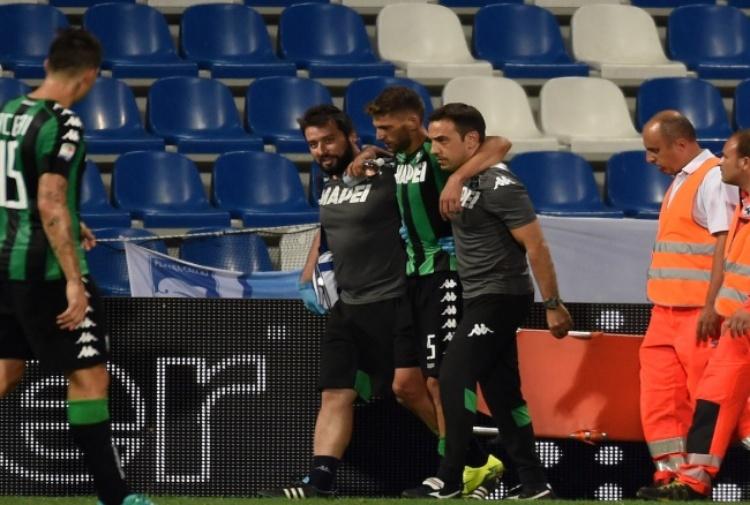 Berardi ko: salta Under 21, Juventus e Bilbao