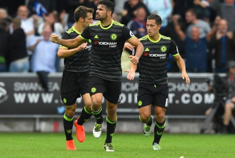Premier League: Swansea-Chelsea finisce sul 2-2
