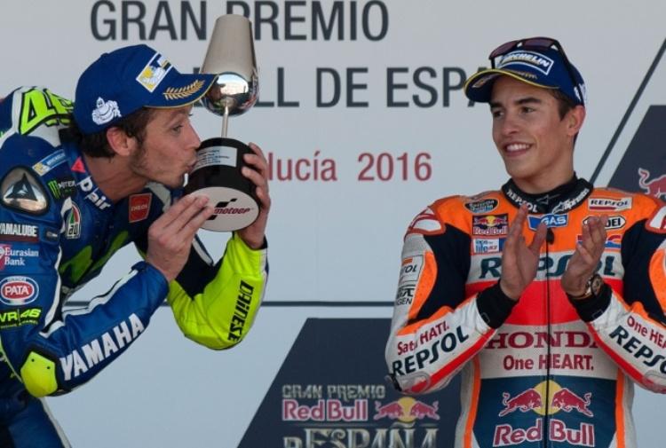 Rossi vs Lorenzo, Marquez non si schiera