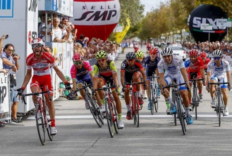 Ciclismo, Memorial Pantani: vince Francesco Gavazzi