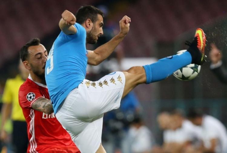 Napoli in ansia per Albiol, ecco le condizioni del difensore