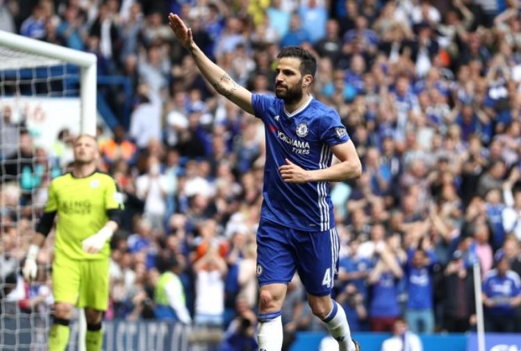 Chelsea, Fabregas sul suo rapporto con Conte