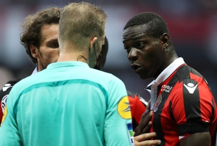 Mario Balotelli espulso, cancellata la squalifica: sarà in campo contro il Lione