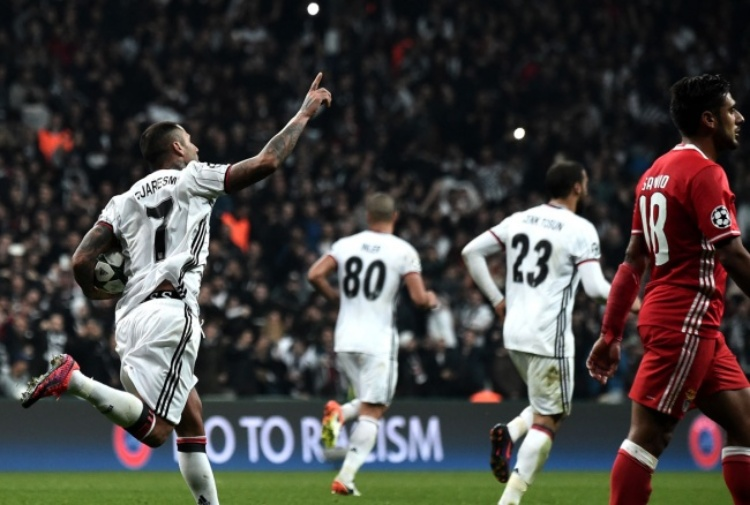 Besiktas-Benfica 0-3: Video Gol, Highlights e Sintesi (Champions League 2016-17)