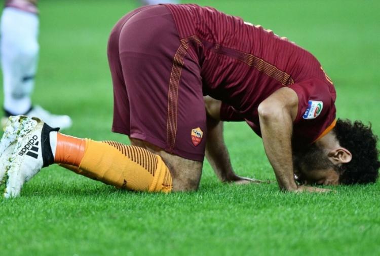 Derby a rischio per Salah. Infortunio in allenamento
