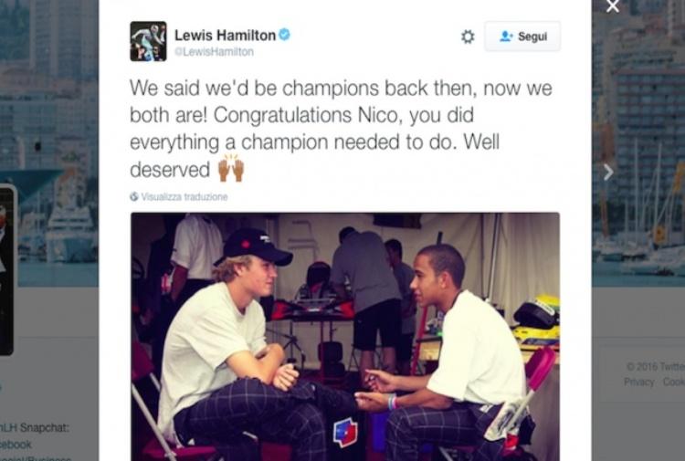 F1 | Hamilton si smarca da Rosberg: