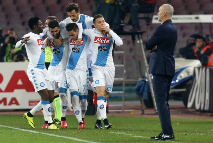 Serie A: Napoli-Inter 3-0