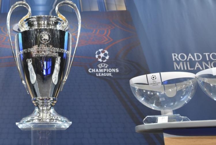Champions, sorteggio: spauracchio Real Madrid per Juventus e Napoli