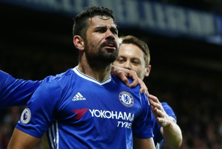 Chelsea: Diego Costa troppo