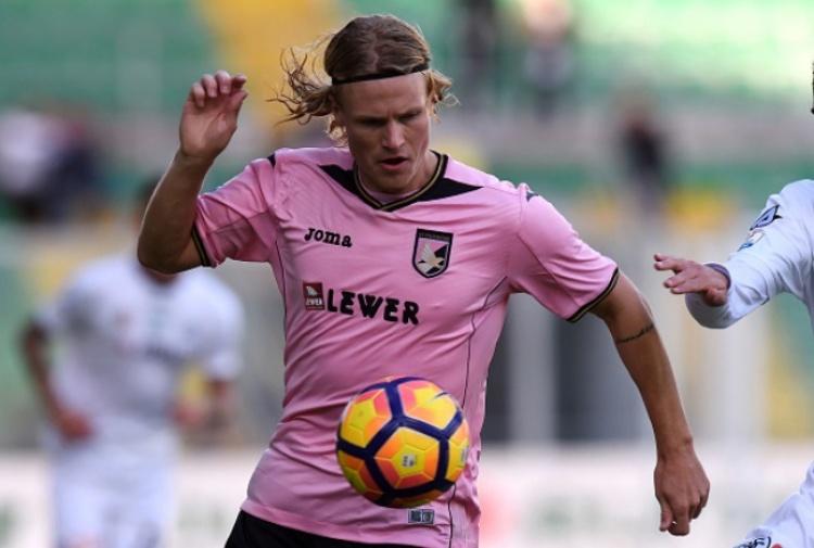 FOTO calciomercato Palermo: Oscar Hiljemark a Genova, è un nuovo calciatore rossoblu
