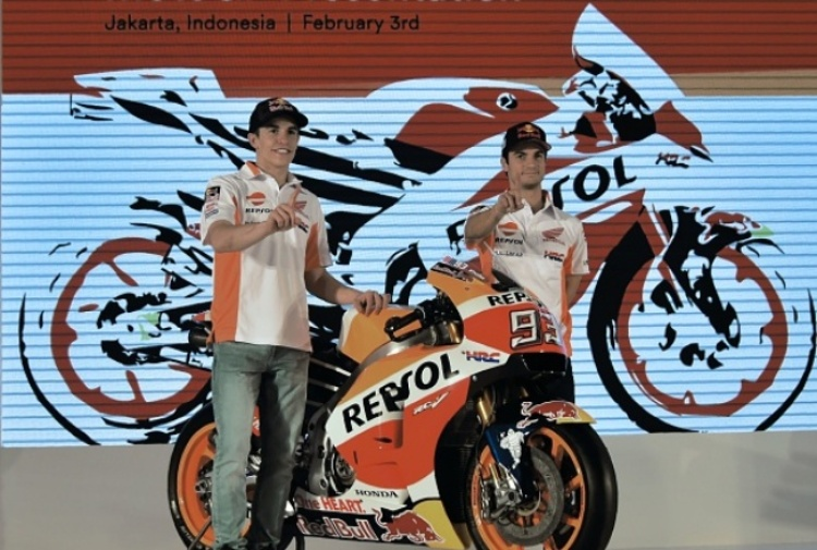 MotoGP. Presentato in Indonesia il team HRC 2017
