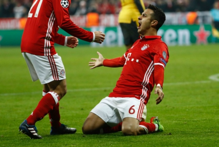 Bayern: 5-1 all'Arsenal. Carletto assapora i quarti