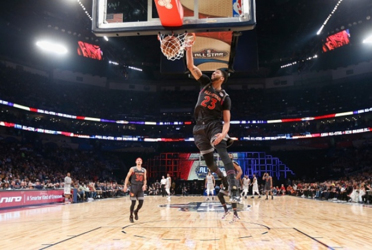 All star Game all'ovest, Anthony Davis Mvp da 52 punti