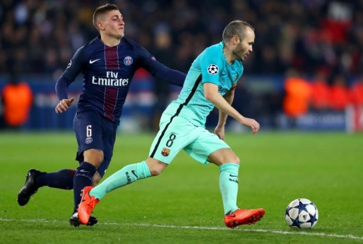 Barcellona, Iniesta sceglie Verratti: