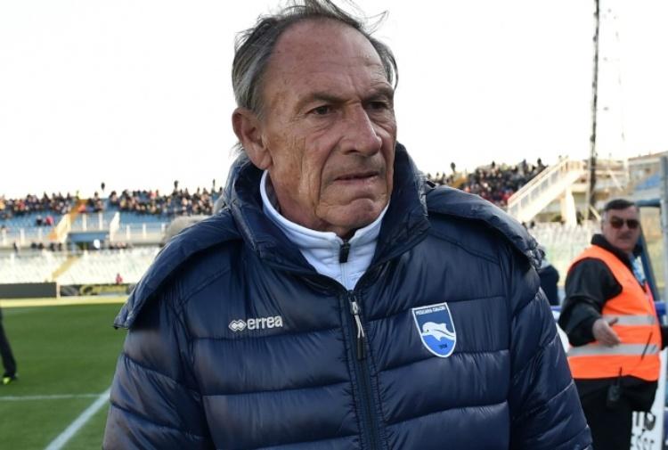 Pescara, ecco i convocati di Zeman: ancora fuori Gilardino