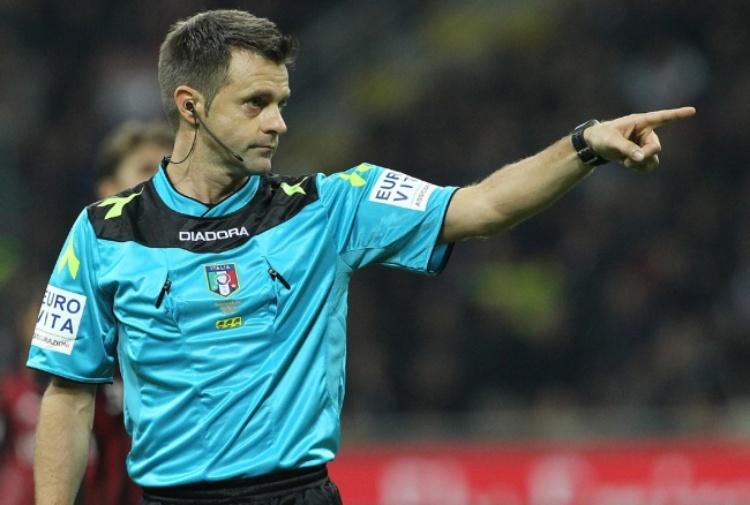 Arbitri Coppa Italia: Rizzoli per Roma-Lazio, Banti dirigerà Napoli-Juventus