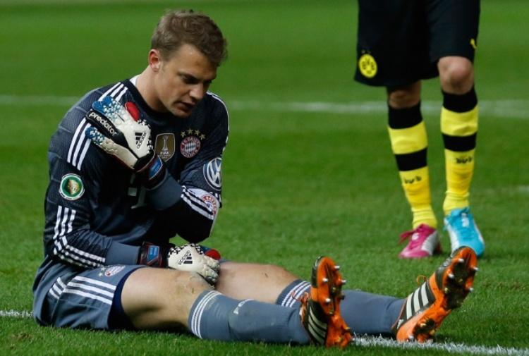 Bayern Monaco: stagione finita per Neuer