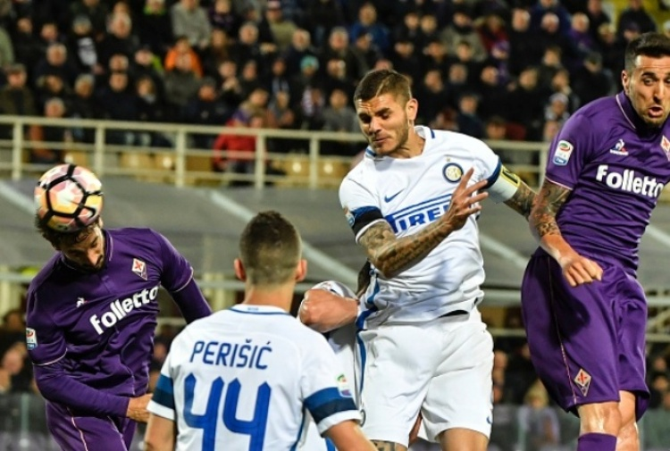 Inter ko (5-4) a Firenze, Europa addio. Pioli: