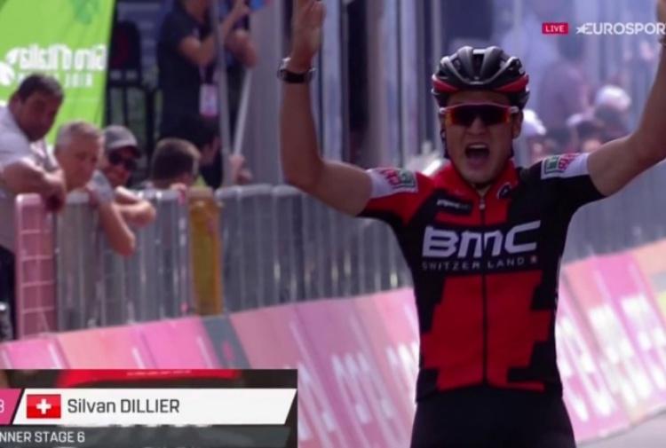 Giro: svizzero Dillier vince 6/a tappa