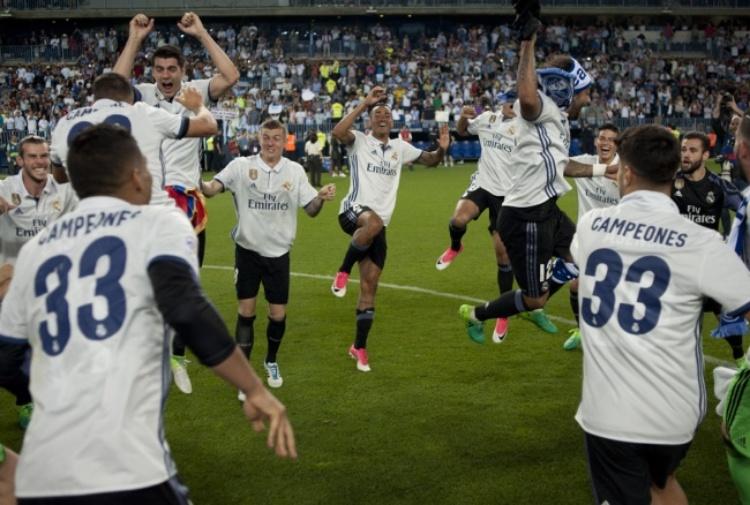 Il Real Madrid vince la Liga dopo 5 anni di digiuno
