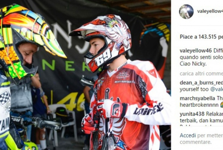 Nicky Hayden, c'è un video con l'incidente del pilota