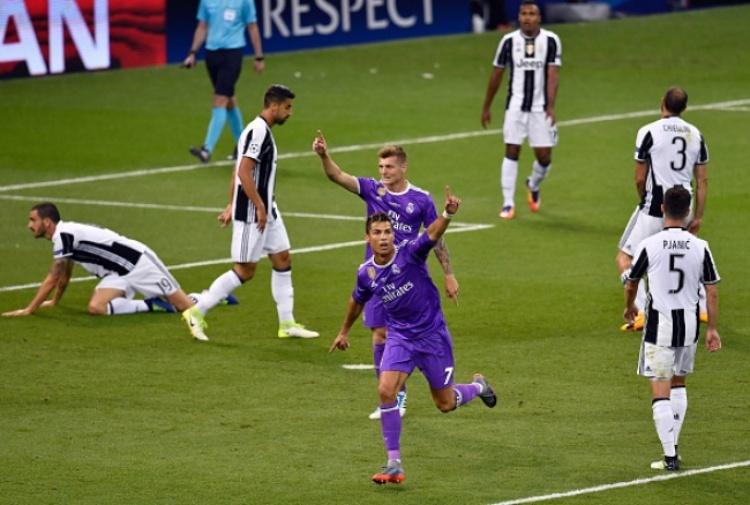 Champions: Juve-Real Madrid 1-4, maledizione bianconera