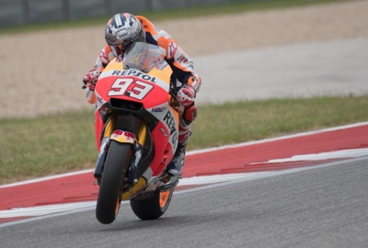 Libere MotoGP, primo turno quasi sprecato. Marquez il più veloce