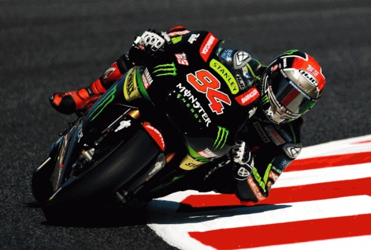 MotoGP Catalunya Warm Up Guizzo di Jonas Folger