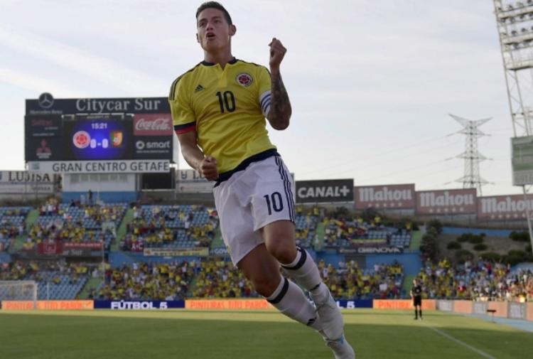 L'ultima di James Rodriguez con il Real Madrid: poi sarà Juve?