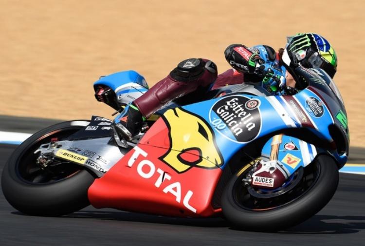Moto2 Franco Morbidelli promette bene
