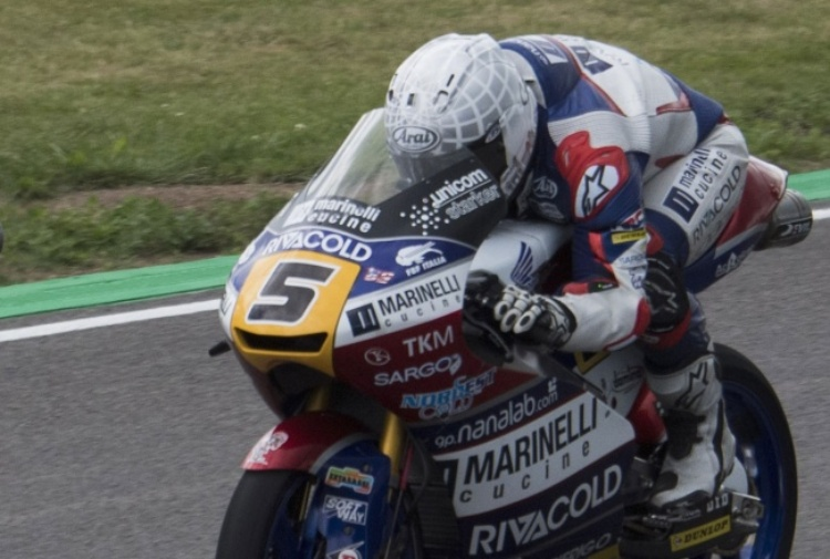 Moto3, Fenati ancora sul podio in Germania: Mir lo beffa all'ultima curva