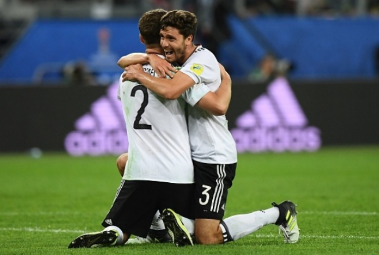 La Germania si prende anche la Confederations Cup