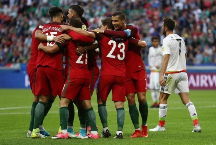 ConfCup: Portogallo-Messico 2-1, decide Adrien Silva ai supplementari