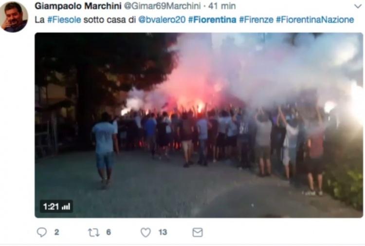 Fiorentina, avviate le pratiche legali per l'audio di Borja Valero