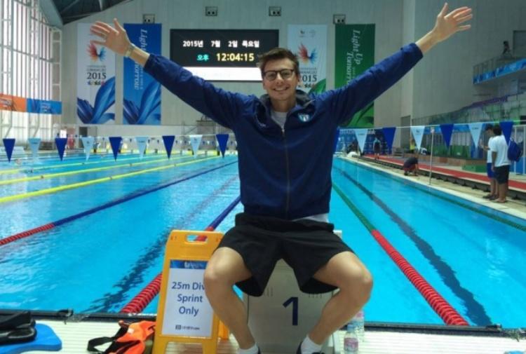 Trovato morto in palestra il nuotatore montecchiese Mattia Dall'Aglio