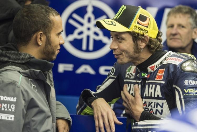 Hamilton sfida Rossi: