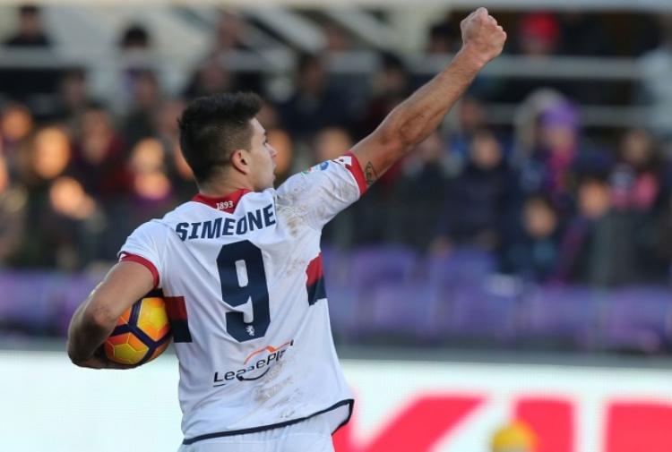 Palladino saluta Simeone:
