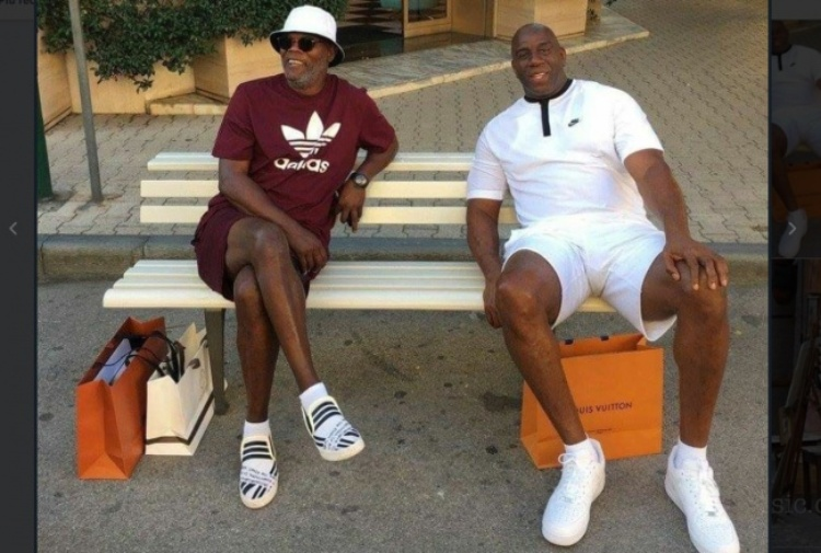Samuel Jackson, Magic Johnson e il post di Nina Moric