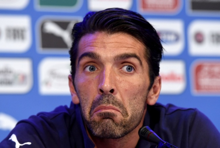Buffon sincero'Spagna superiore