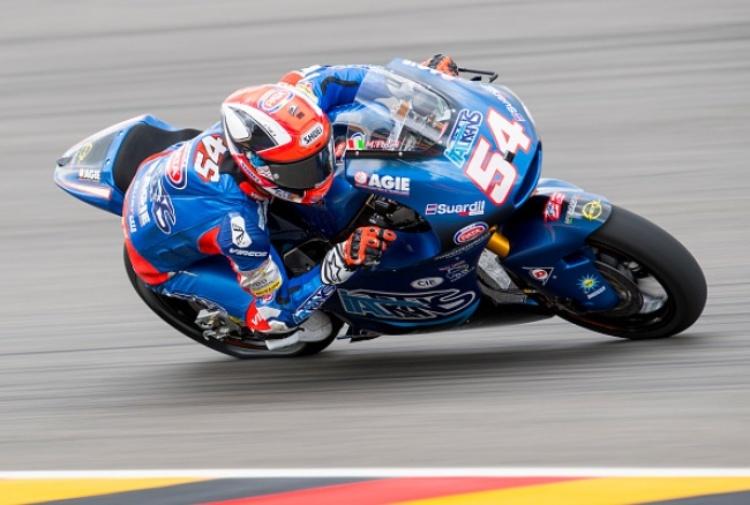 Moto2, Morbidelli prenota la pole