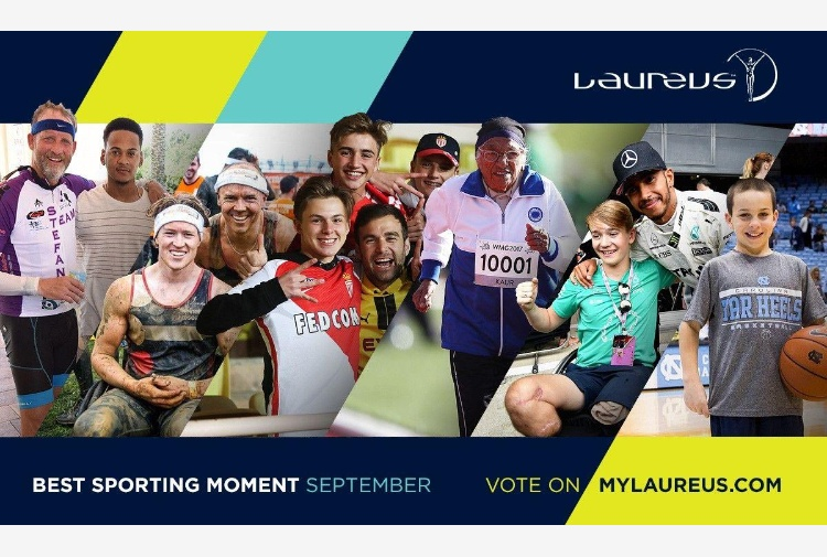 Laureus Best Sporting Moment of the Year, sei candidati a settembre