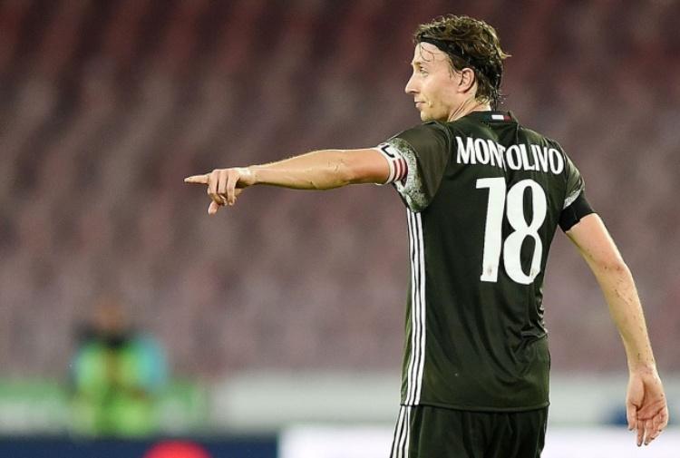 Milan, Montolivo salta la gara con la Sampdoria