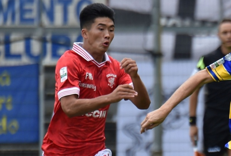 Han Kwang-Song tradisce il Perugia