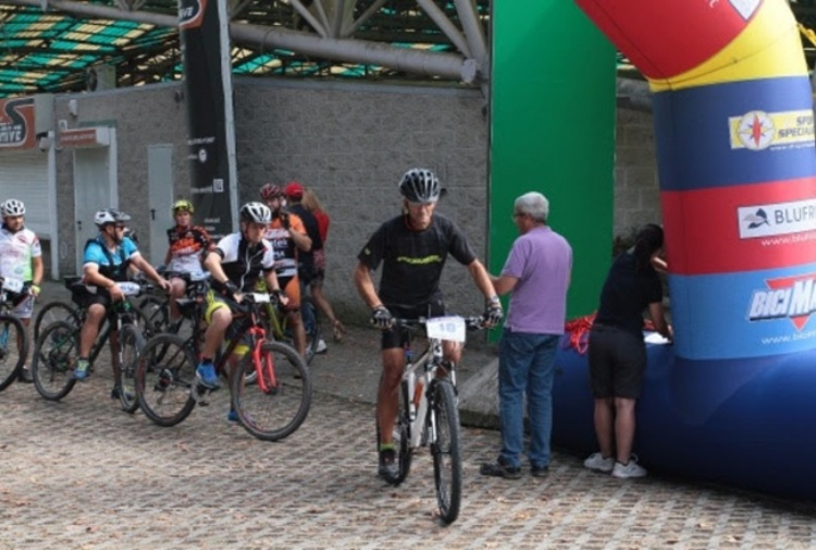 Rally in bicicletta all'Autodromo di Monza