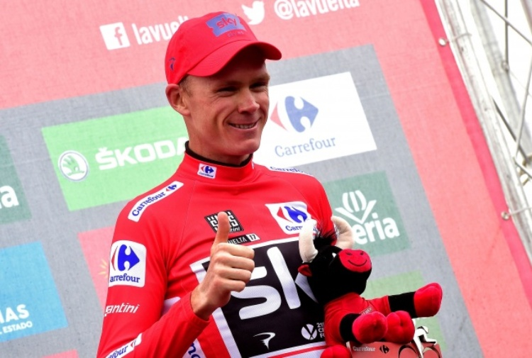 Froome trionfa ancora, terzo 'Velo d'Or'