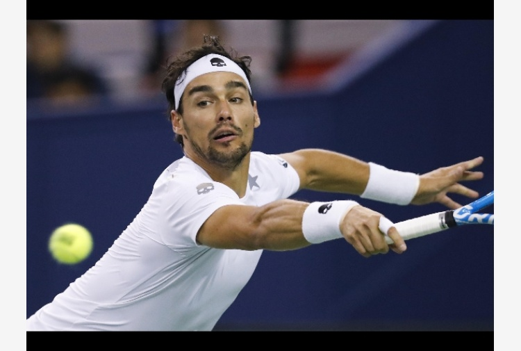Tennis: Stoccolma, Fognini trova Sock