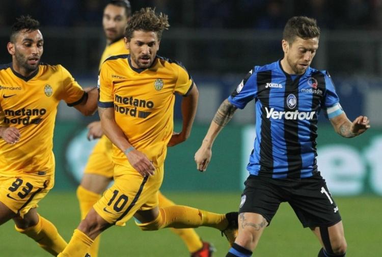 Serie A: il Verona dura un tempo, poi l'Atalanta cala il tris